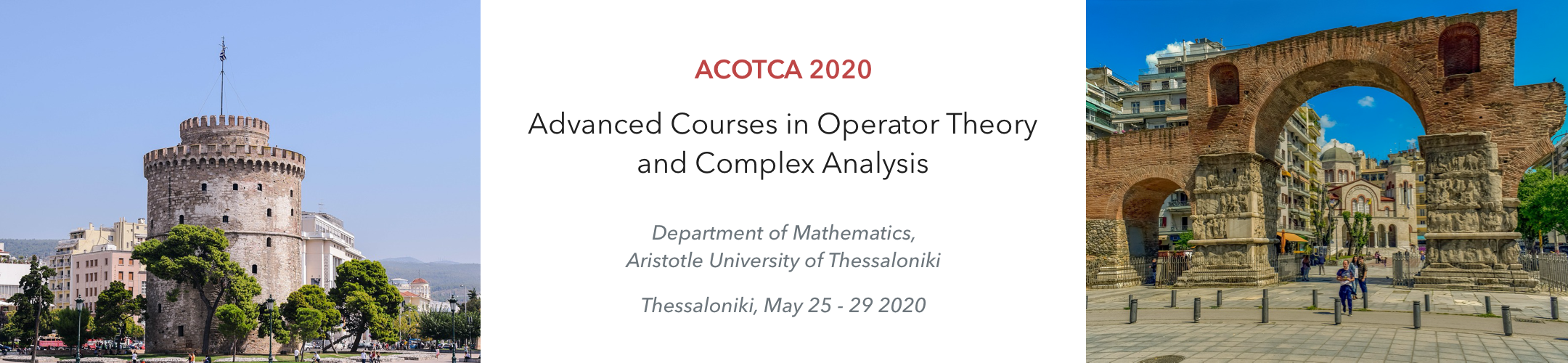 Advanced Courses in Operator Theory and Complex Analysis